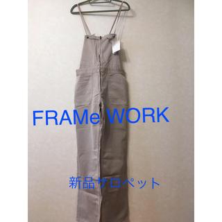 FRAMeWORK - 新品!フレームワーク人気サロペット オーバーオール