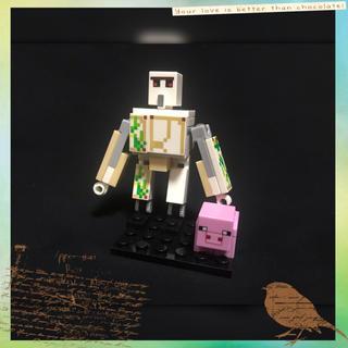 マイクラ レゴ 互換品 アイアンゴーレム  ブタさんセット
