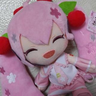 桜ミク ぬいぐるみ 新品 初音ミク(キャラクターグッズ)
