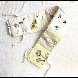 キャラメルベビー&チャイルド(Caramel baby&child )のコンゲススロイド ファブリックブック 布絵本 girl 北欧 ベビーブック 花(知育玩具)
