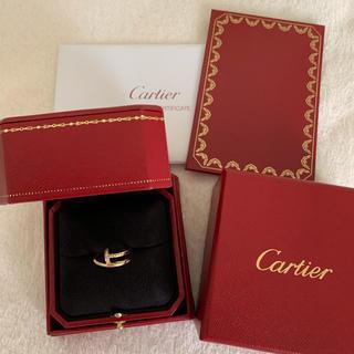 Cartier - 購入証明書付き カルティエ ジュストアンクル ダイヤリング k18PG