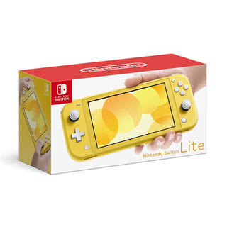 ニンテンドースイッチ(Nintendo Switch)の【送料無料】Nintendo Switch Lite [イエロー] スイッチ(家庭用ゲーム機本体)