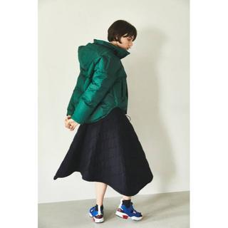 ENFOLD - 4万8600円 18AW nagonstans キルティング スカート
