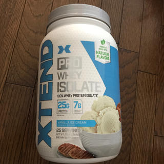 xtend プロテイン バニラアイスクリーム 0.8kg