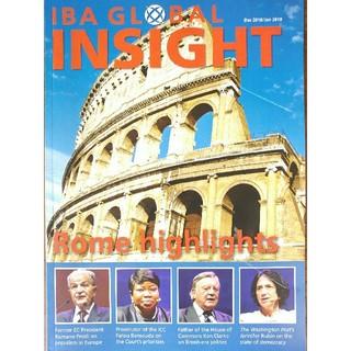 IBA GLOBAL INSIGHT 4冊(洋書)