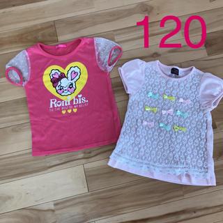 RONI - 女の子 Tシャツ  120 ロニィ