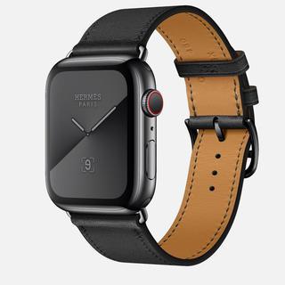 エルメス(Hermes)の★ブラック★ Apple Watch★アップルウォッチ エルメス シリーズ5(腕時計(デジタル))