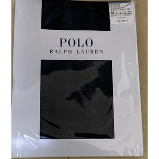 ポロラルフローレン(POLO RALPH LAUREN)のタイツM〜L 新品★ラルフローレン 黒・柄あり 90デニール相当(タイツ/ストッキング)