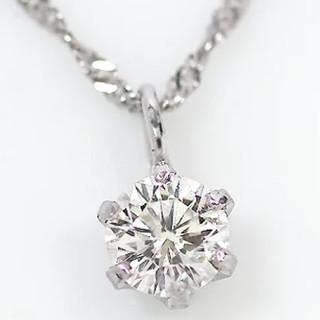 AMO'S STYLE - 0.15ct.ダイヤモンドネックレス・一粒ダイヤモンド