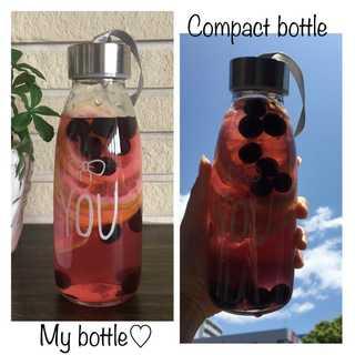 【新品】タンブラー ペア 2個セット 瓶タイプ 300ml オリジナル(タンブラー)