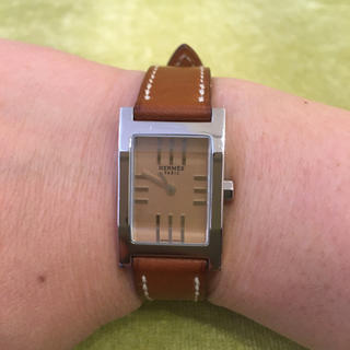 Hermes - 美品 エルメス 腕時計 タンデム お値下げ!