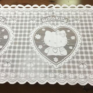 生地 キティのミニカーテン(生地/糸)