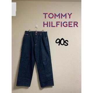 トミーヒルフィガー(TOMMY HILFIGER)のTOMMY HILFIGER ペインターパンツ デニム(ペインターパンツ)