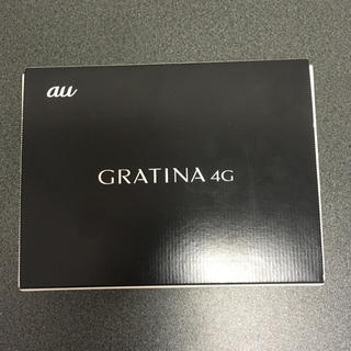 au - SIMフリー  新品未使用  GRATINA 4G