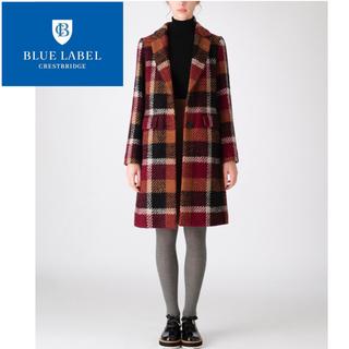 BURBERRY BLUE LABEL - 【新品】ブルーレーベル バーバリー クレストブリッジチェックコート
