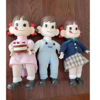 ペコちゃんポコちゃん人形 3体セット(その他)