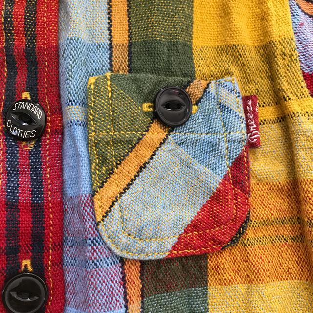 BREEZE(ブリーズ)の90㎝♡ブリーズ♡チェック柄長袖シャツ キッズ/ベビー/マタニティのキッズ服男の子用(90cm~)(ブラウス)の商品写真