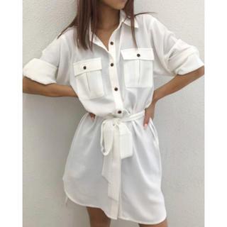GYDA - GYDA シャツワンピース  ボーイズシャツ 定価8000円ほど