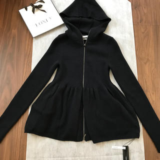 FOXEY - 新品未使用♡タグ付き フォクシー パーカー RIB KNIT HOODIE