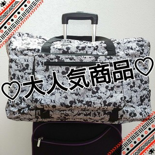 ミッキー×ミニー ボストンバッグ 旅行バッグ 大容量