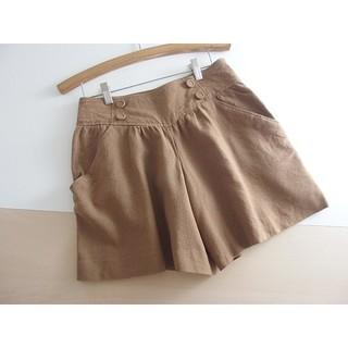 クチュールブローチ(Couture Brooch)の秋冬 ⚫クチュールブローチ⚫ ウールショートパンツ 38 ♪(ショートパンツ)