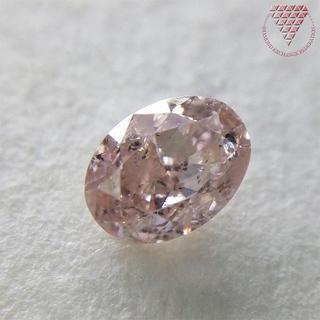0.364 ct FANCY LIGHT PINK BROWN(リング(指輪))