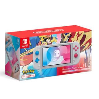 ニンテンドースイッチ(Nintendo Switch)のSwitchlite ザシアン•ザマゼンタ(家庭用ゲーム機本体)