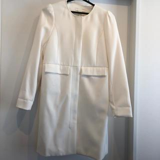 エイチアンドエム(H&M)のノーカラーコート 春コート 入学式 卒業式 H&M(スプリングコート)