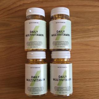 マイプロテイン(MYPROTEIN)のデイリー マルチビタミン 180錠 4本セット マイプロテイン (ビタミン)
