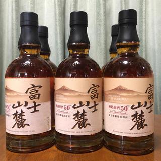 キリン(キリン)の富士山麓  樽熟原酒50°  6本(ウイスキー)