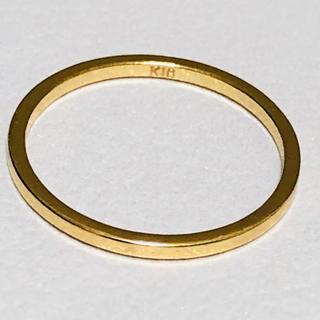 K18 シンプルなピンキーリング(リング(指輪))