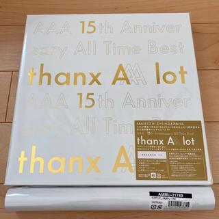 AAA - AAA 15周年 ベストアルバム 初回限定盤 特典ポスター付き シリアルなし