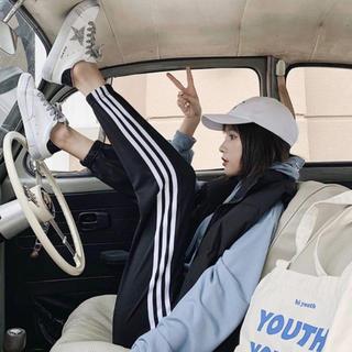 GYDA - EMODA GYDA rienda 好きに!! ジャージ ラインパンツ