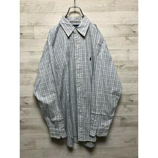 ラルフローレン(Ralph Lauren)のラルフローレン ビックシルエット チェックシャツ(シャツ)