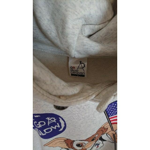 CHUMS(チャムス)の今季 ゴースローキャラバン グレムリン ギスモ スウェット パーカー サイズ3  メンズのトップス(パーカー)の商品写真