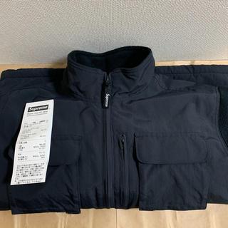 Supreme - 19fw 美品 黒 S supreme upland fleece jacket