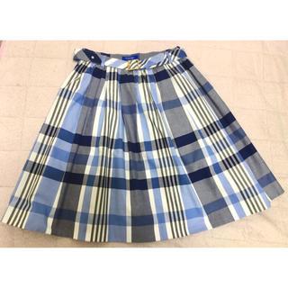 BURBERRY BLUE LABEL - 土日祝限定お値下げ!ブルーレーベルクレストブリッジ  スカート