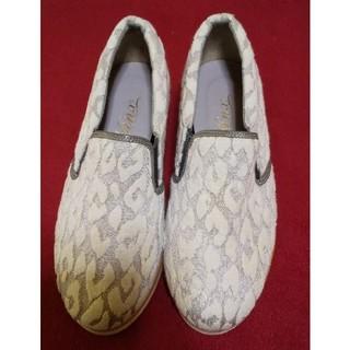【数回使用】レディース靴 22cm(日本製)(ローファー/革靴)