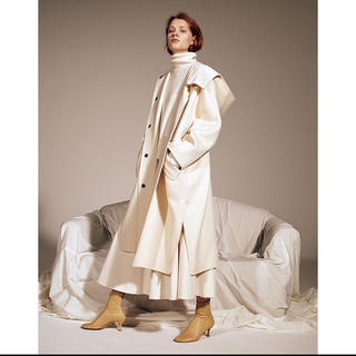 LE CIEL BLEU - Hooded Over Coat