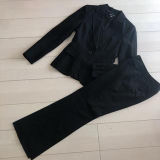 ミッシェルクラン(MICHEL KLEIN)のミッシェルクラン パンツスーツ ストライプ (スーツ)