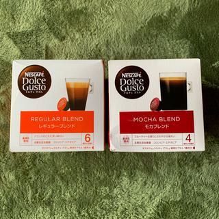 ネスレ(Nestle)のネスカフェドルチェグスト レギュラーブレンド16P モカブレンド16P(コーヒー)