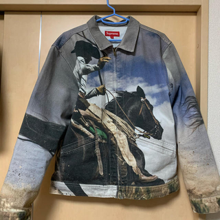 Supreme - Supreme  Cowboy Denim Work Jacket M マルボロ