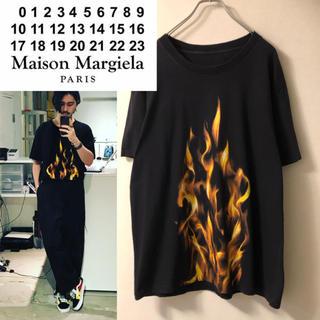 Maison Martin Margiela - ★名作★ maison margiela ① 15ss ファイヤー tシャツ