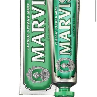 マービス(MARVIS)の新品未使用 MARVIS マーヴィス 歯磨き粉 クラッシック ストロング ミント(歯磨き粉)