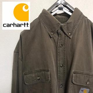 カーハート(carhartt)の【USED】FRcarhart カーハート ボタンダウンシャツ ビッグシルエット(シャツ)