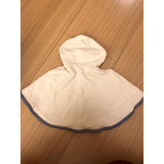 ベビーポンチョ キッズ/ベビー/マタニティのベビー服(~85cm)(カーディガン/ボレロ)の商品写真