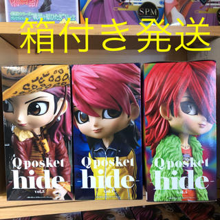 BANPRESTO - hide フィギュア vol.3.4.5
