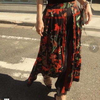 Ameri VINTAGE - 【AMERI】大人気!完売商品 バンダナ柄スカーフフレアスカート