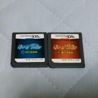 ニンテンドーDS - ポケモン不思議のダンジョン 時の探検隊・闇の探検隊 DS ソフトのみ動作確認済み