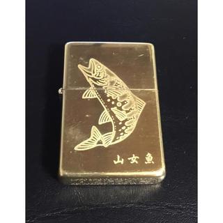 ジッポー(ZIPPO)の1995 ITAYA COLLECTION 山女魚 デサイン ジッポ ライター(タバコグッズ)
